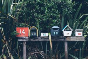 Photo: Mailboxes